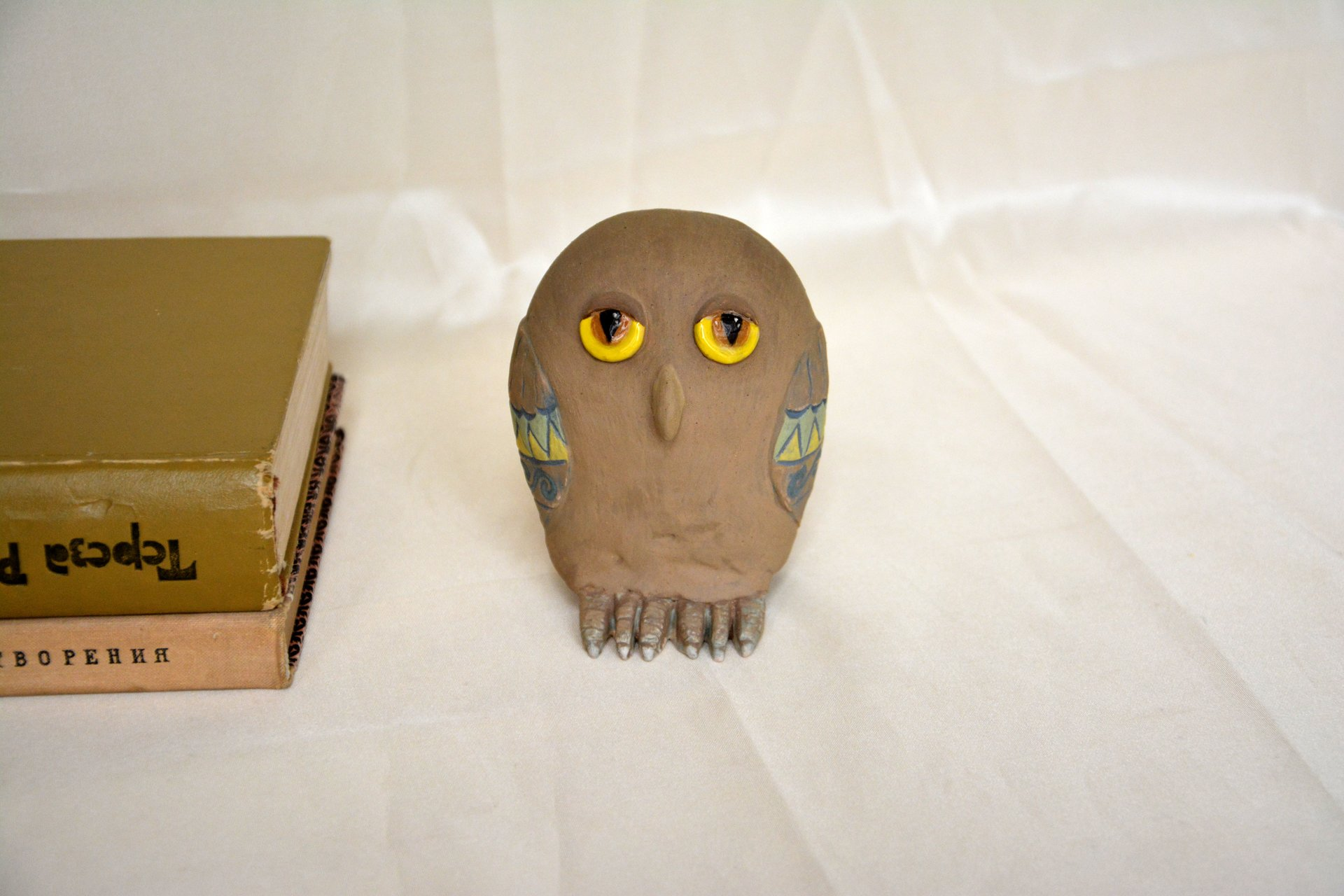 Owl of Constellation Libra - Animals and birds, height - 10 cm, photo 1 of 2.