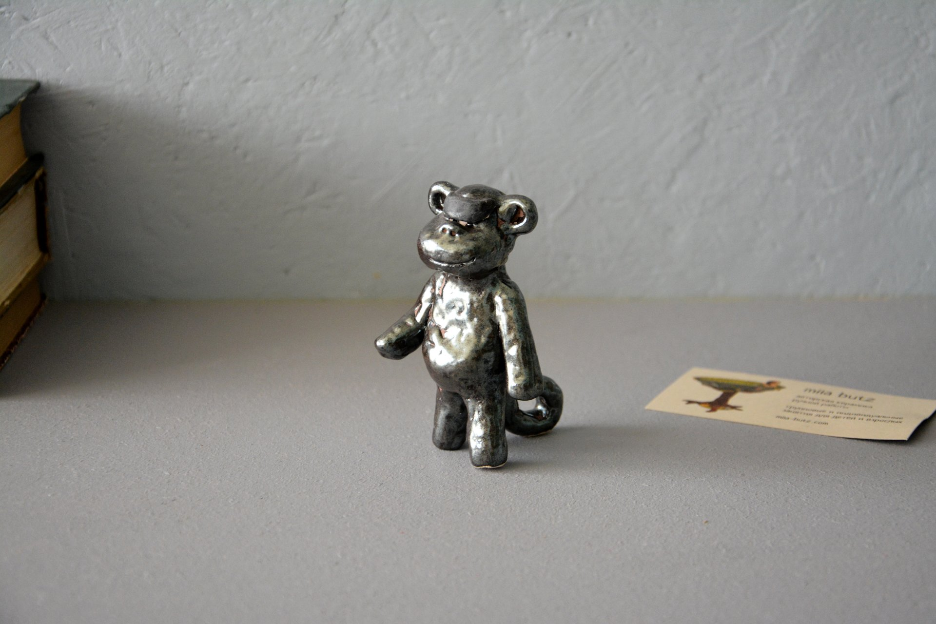 Robot — Monkeys - Animals and birds, height - 9 cm, photo 3 of 4.