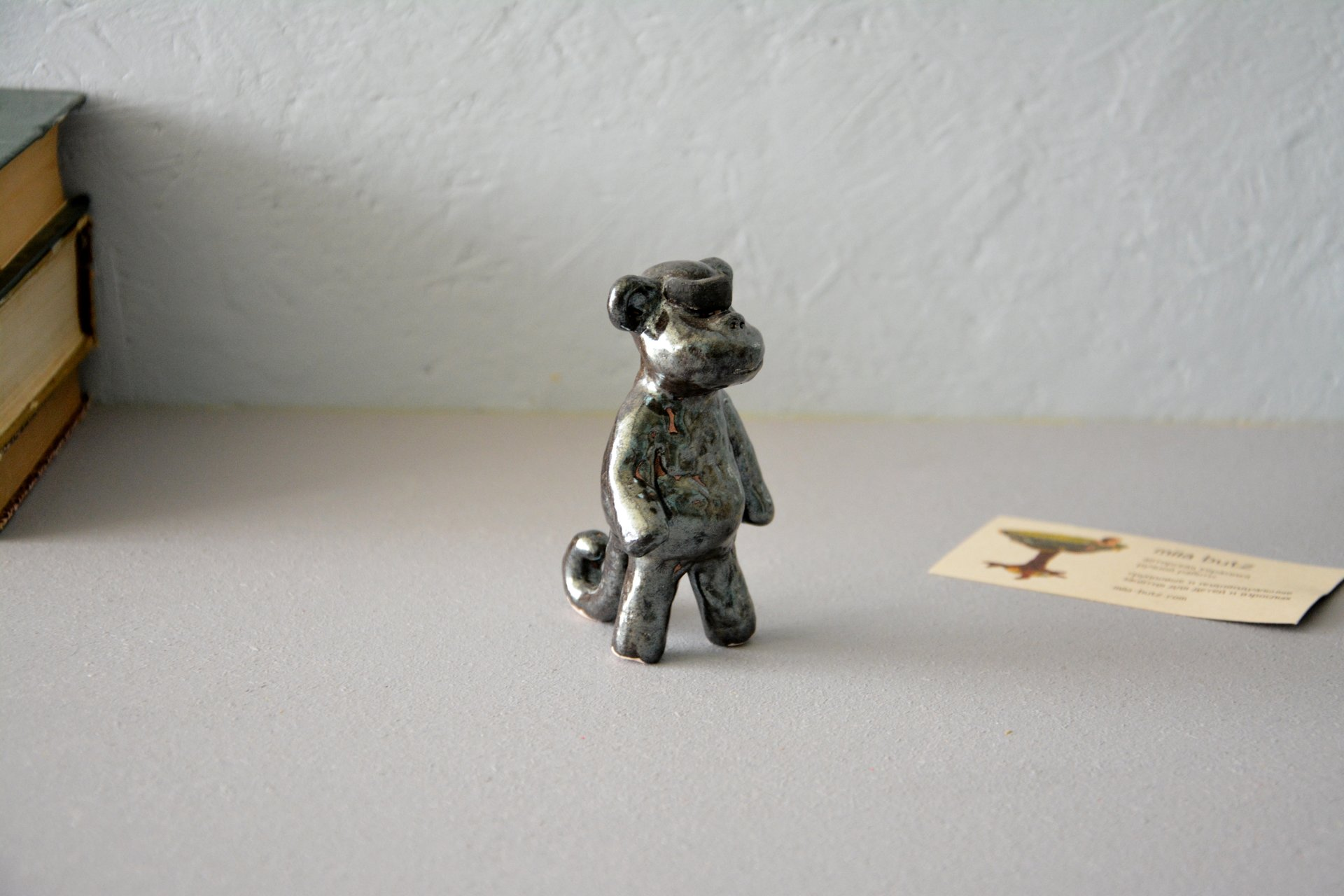 Robot — Monkeys - Animals and birds, height - 9 cm, photo 2 of 4.