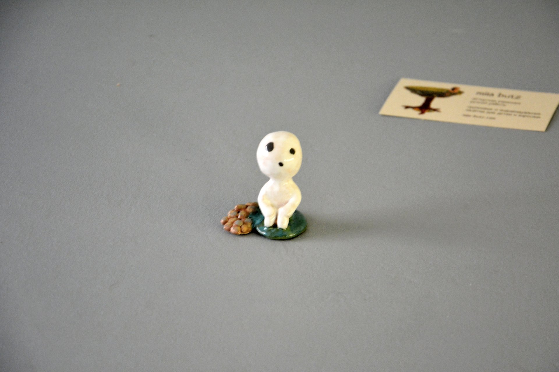 Figurine Toddler Kodama Spirit Tree, height - 5 cm, photo 1 of 4.