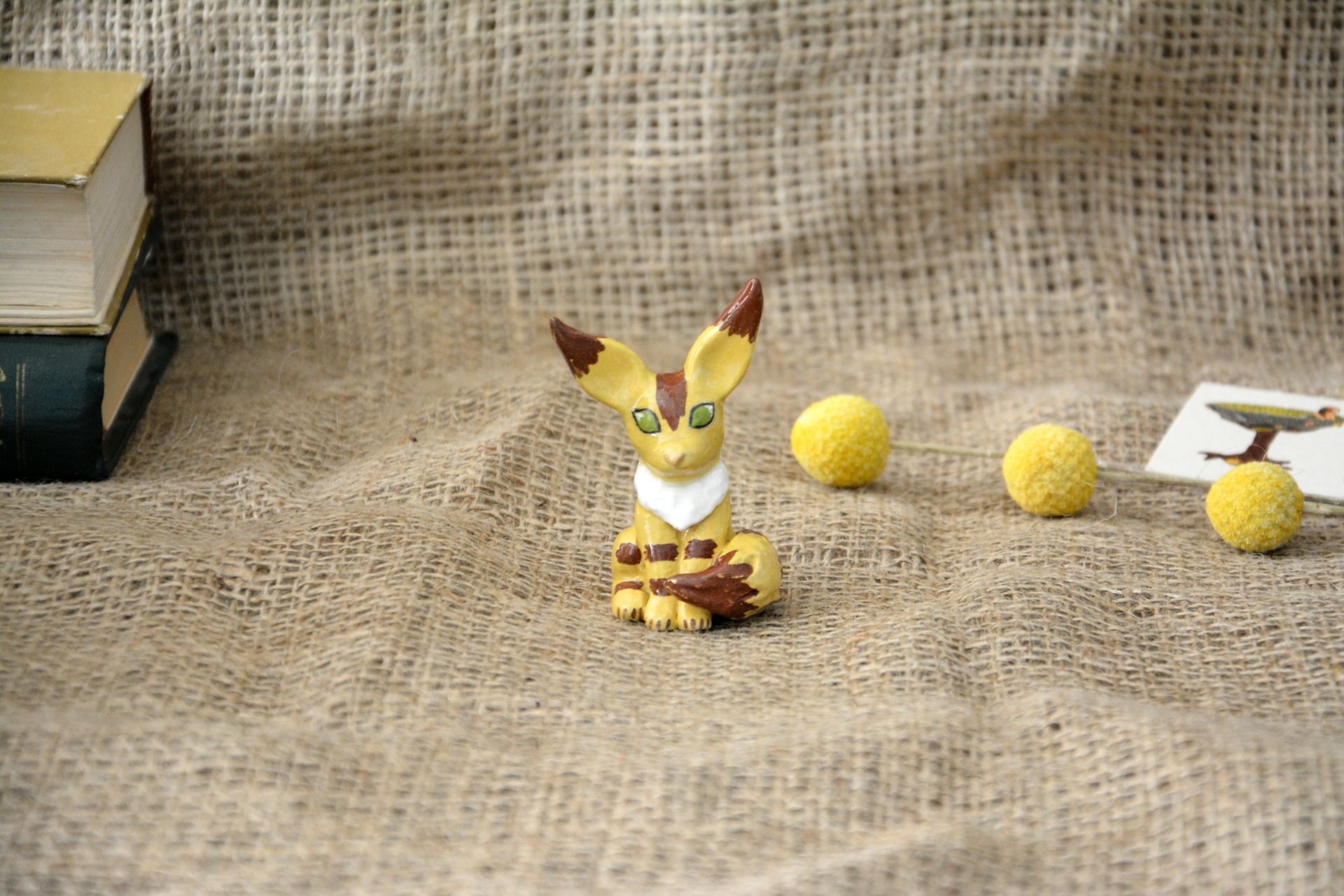 "Squirrel-fox figurine, a character from the anime ""Navsikai from the valley of the winds, height 7cm, photo 5 of 6."
