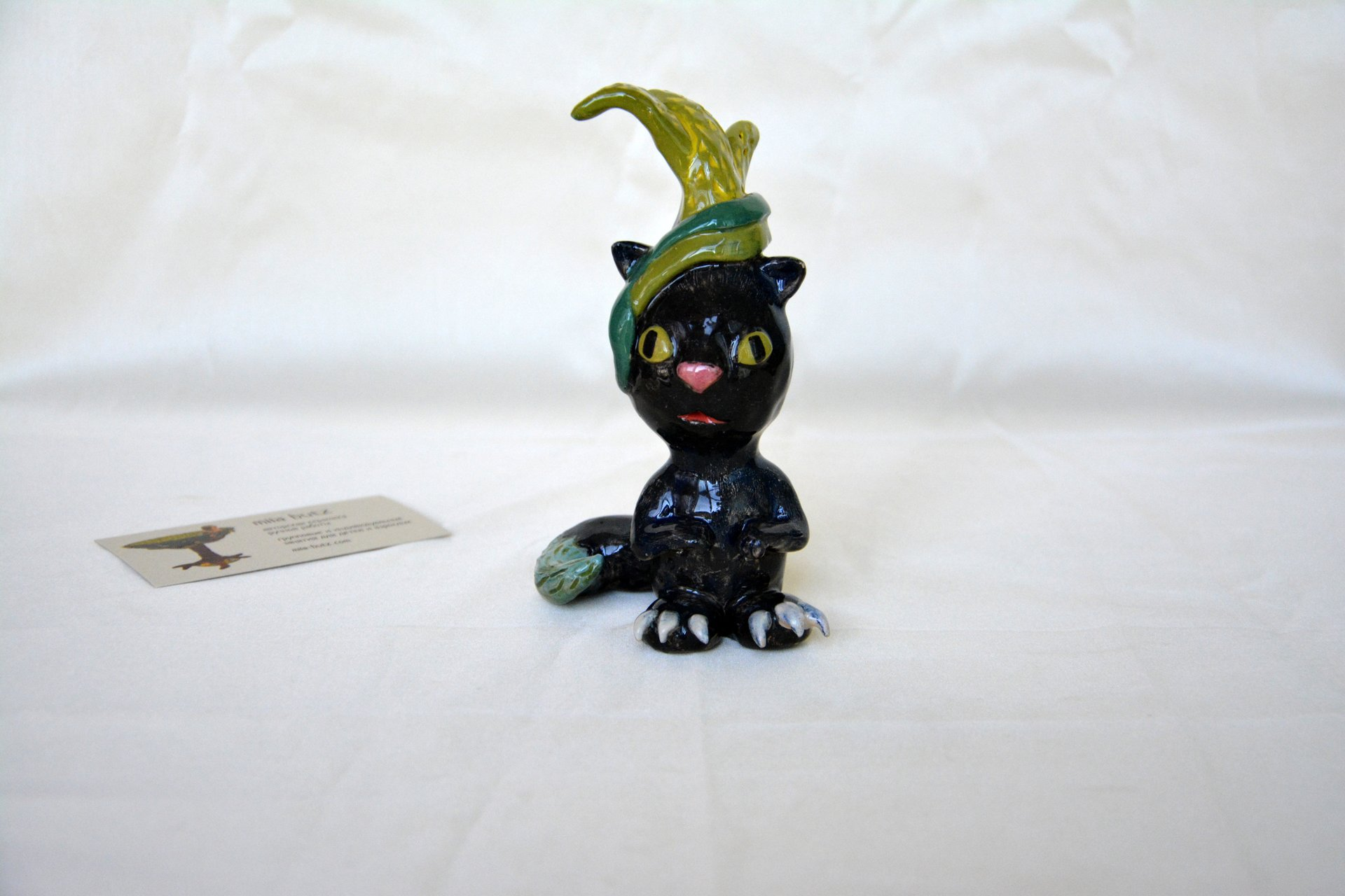 FreakCat - Ceramic other figures, height - 13 cm, photo 1 of 4.