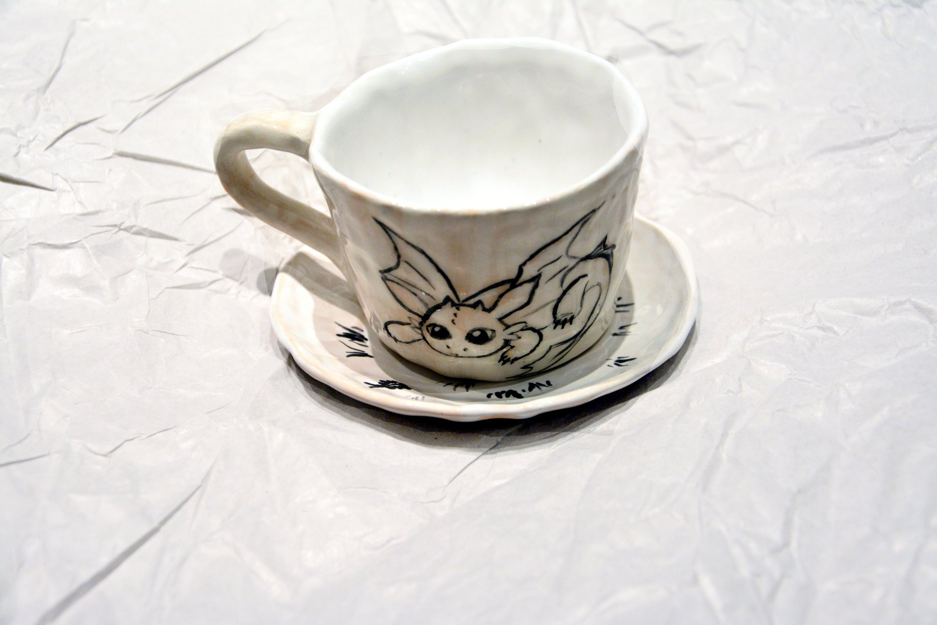 A cup with the Toothless - Cups, glasses, mugs, 80 ml, photo 1 of 3.