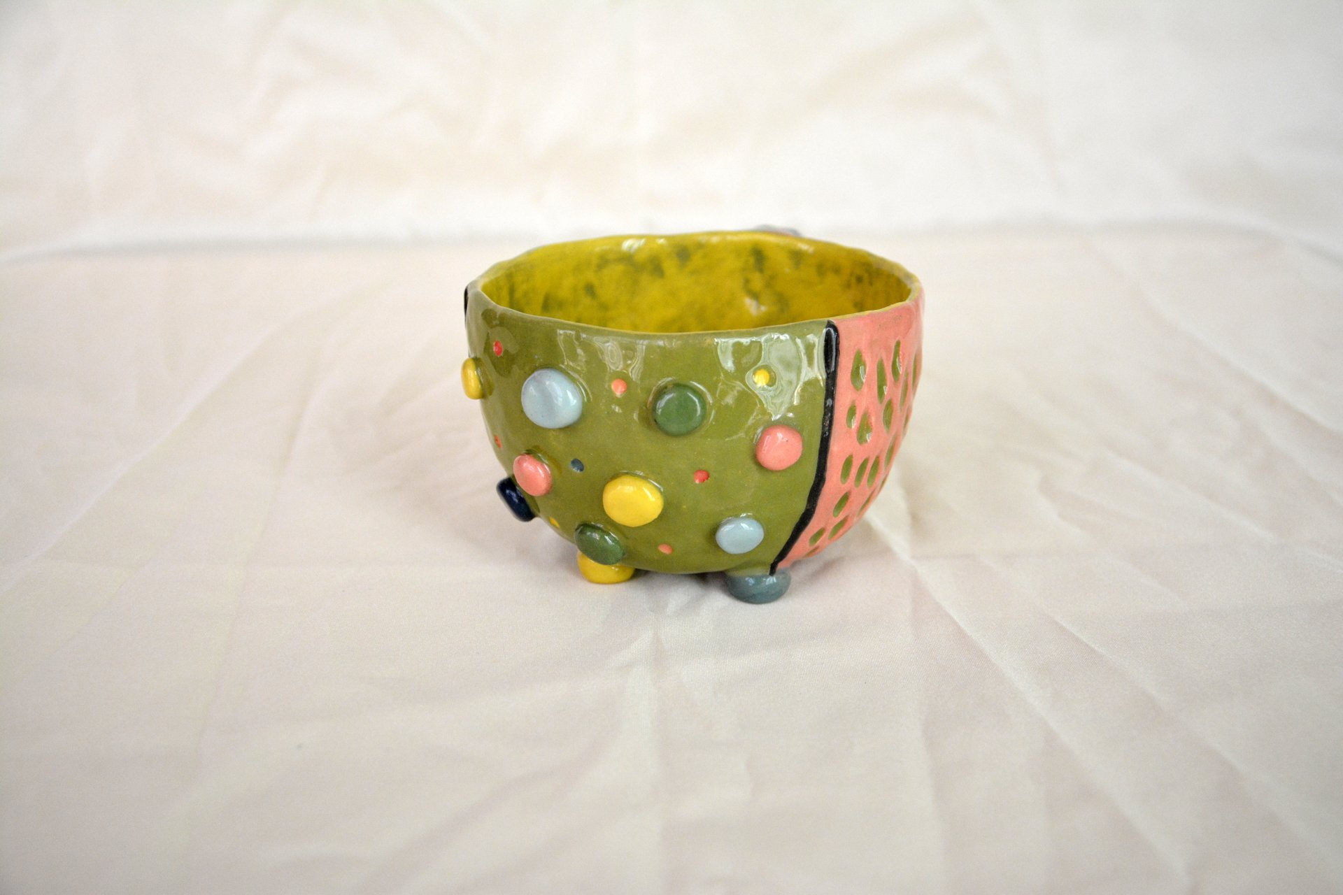 Bright color mug - Cups, glasses, mugs, height - 9 cm, volume - 350 ml, photo 3 of 3.