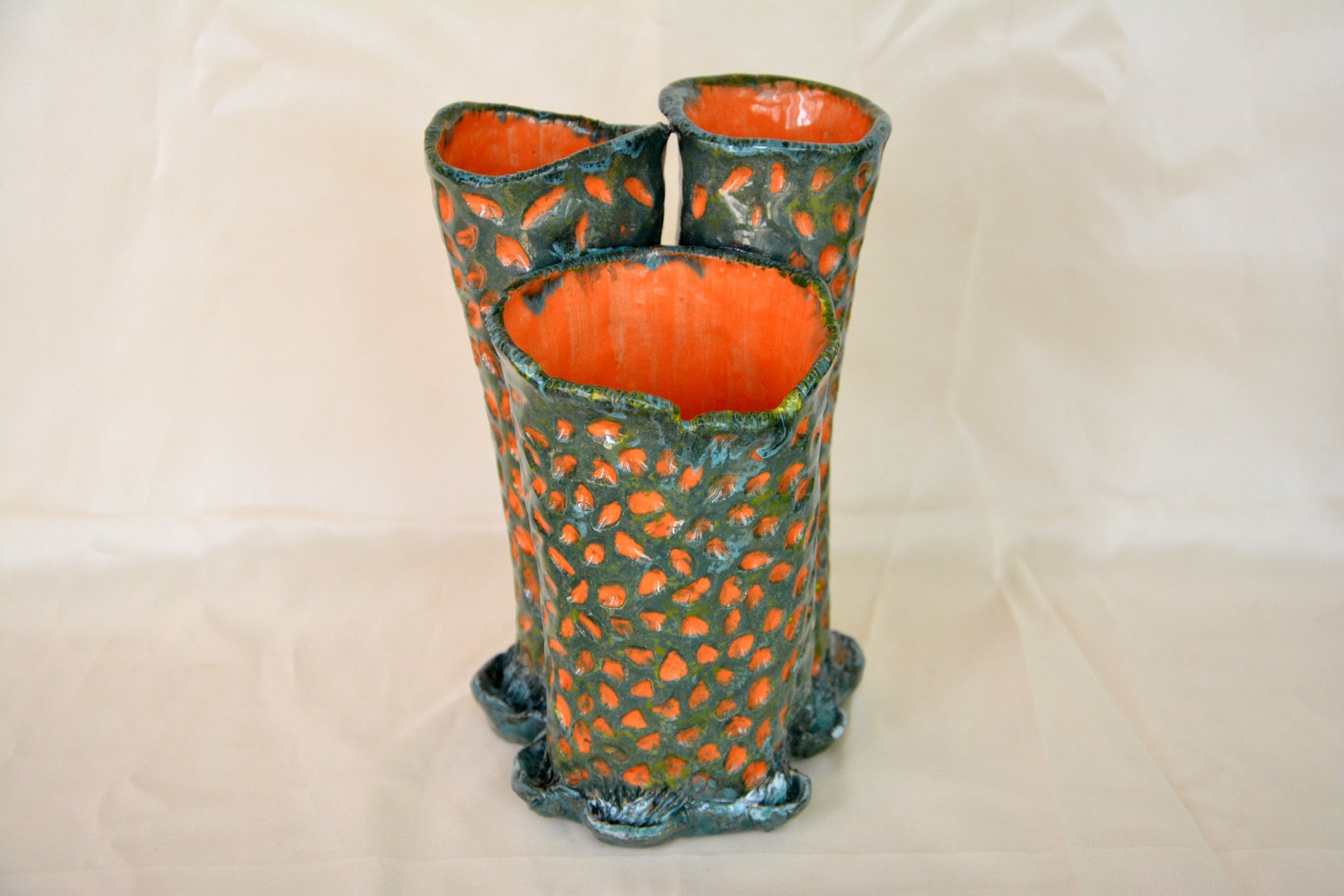 Decorative Vase Coral Reef, height - 20 cm, photo 3 of 3. 1177.