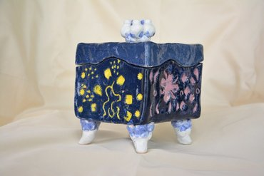 ceramics Ceramic casket