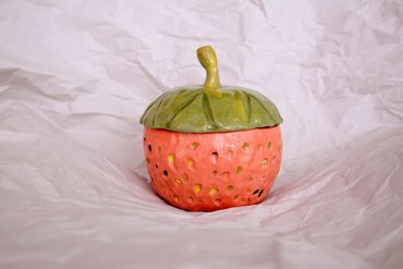 ceramics Jar - Strawberry